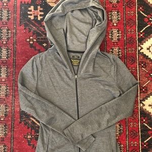 Burton Grey Zip Up Hoodie Activewear / Lounge